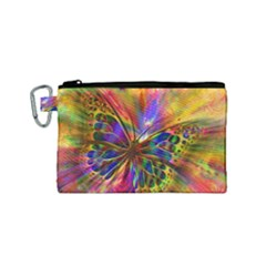 Arrangement Butterfly Aesthetics Canvas Cosmetic Bag (small)
