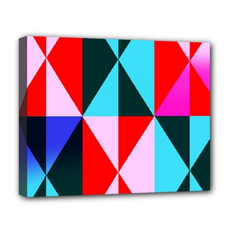 Geometric Pattern Deluxe Canvas 20  X 16