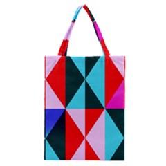 Geometric Pattern Classic Tote Bag