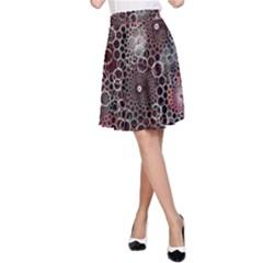 Chain Mail Vortex Pattern A Line Skirt