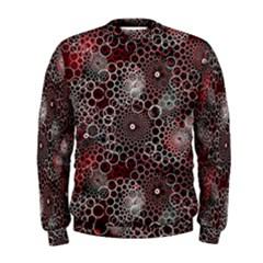 Chain Mail Vortex Pattern Men s Sweatshirt