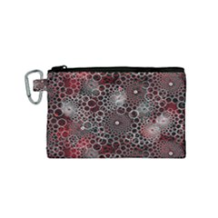 Chain Mail Vortex Pattern Canvas Cosmetic Bag (small)