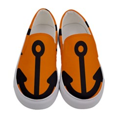 Anchor Keeper Sailing Boat Women s Canvas Slip Ons