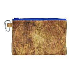 Map Of The World Old Historically Canvas Cosmetic Bag (large)