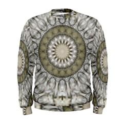 Mandala Sand Color Seamless Tile Men s Sweatshirt