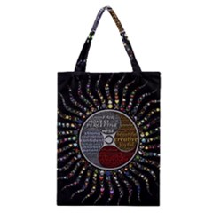 Whole Complete Human Qualities Classic Tote Bag