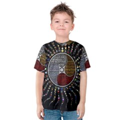 Whole Complete Human Qualities Kids  Cotton Tee