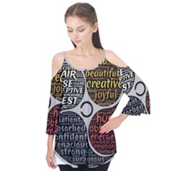 Person Character Characteristics Flutter Tees