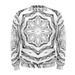Mandala Pattern Floral Men s Sweatshirt