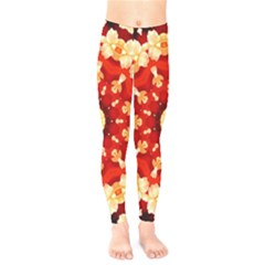 Abstract Art Abstract Background Kids  Legging
