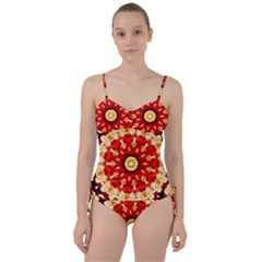 Abstract Art Abstract Background Sweetheart Tankini Set