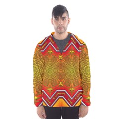 Mandala Zen Meditation Spiritual Hooded Wind Breaker (men)