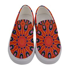 Abstract Art Abstract Background Women s Canvas Slip Ons