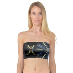 Mandala Butterfly Concentration Bandeau Top