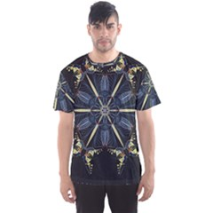 Mandala Butterfly Concentration Men s Sports Mesh Tee