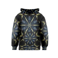 Mandala Butterfly Concentration Kids  Pullover Hoodie