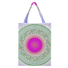 Flower Abstract Floral Classic Tote Bag