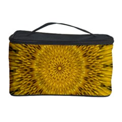 Pattern Petals Pipes Plants Cosmetic Storage Case