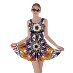Kaleidoscope Pattern Kaleydograf Skater Dress