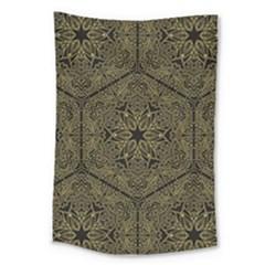 Texture Background Mandala Large Tapestry