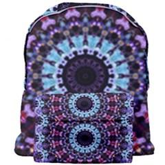 Kaleidoscope Shape Abstract Design Giant Full Print Backpack