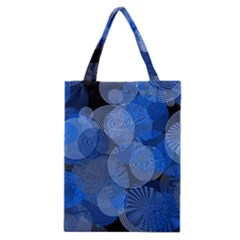 Circle Rings Abstract Optics Classic Tote Bag