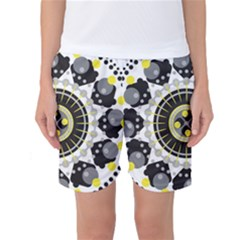 Mandala Geometric Design Pattern Women s Basketball Shorts