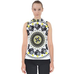 Mandala Geometric Design Pattern Shell Top