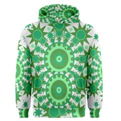 Mandala Geometric Pattern Shapes Men s Pullover Hoodie