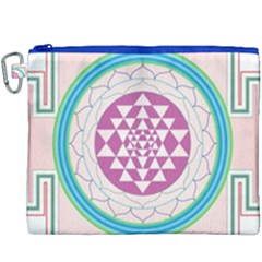 Mandala Design Arts Indian Canvas Cosmetic Bag (xxxl)