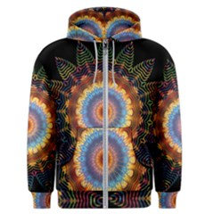 Colorful Prismatic Chromatic Men s Zipper Hoodie