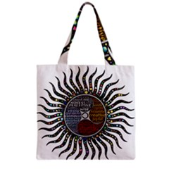 Whole Complete Human Qualities Grocery Tote Bag