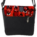 Twenty One Pilots Pattern Flap Messenger Bag (S) View1