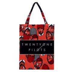 Twenty One Pilots Pattern Classic Tote Bag