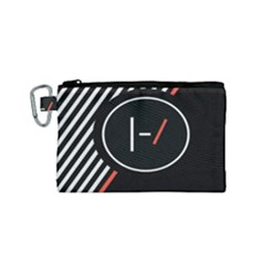 Twenty One Pilots Poster Canvas Cosmetic Bag (small)