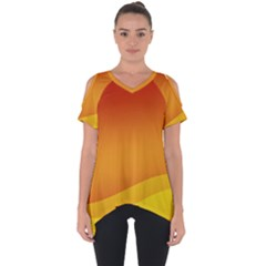 Background Wallpaper Design Texture Cut Out Side Drop Tee