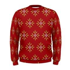 Pattern Background Holiday Men s Sweatshirt