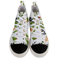 Juicy Currants Men s Mid Top Canvas Sneakers