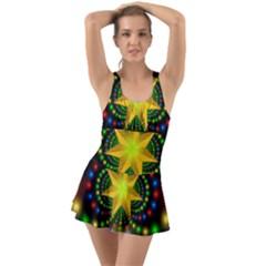 Christmas Star Fractal Symmetry Swimsuit