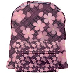 Cherry Blossoms Japanese Style Pink Giant Full Print Backpack