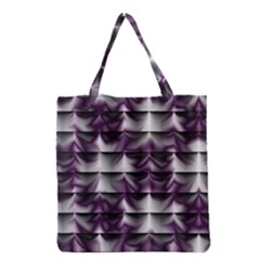 Background Texture Pattern Grocery Tote Bag