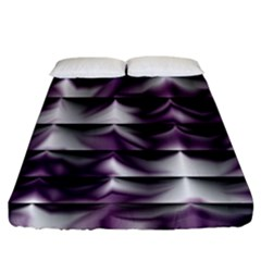 Background Texture Pattern Fitted Sheet (king Size)