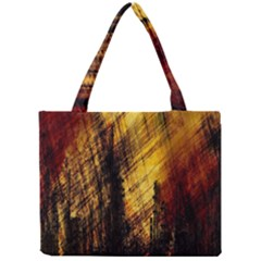 Refinery Oil Refinery Grunge Bloody Mini Tote Bag