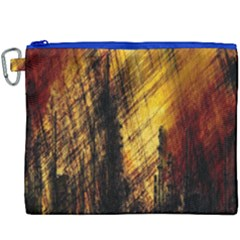 Refinery Oil Refinery Grunge Bloody Canvas Cosmetic Bag (xxxl)