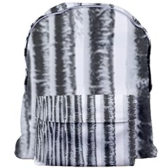 Row Trees Nature Birch Giant Full Print Backpack