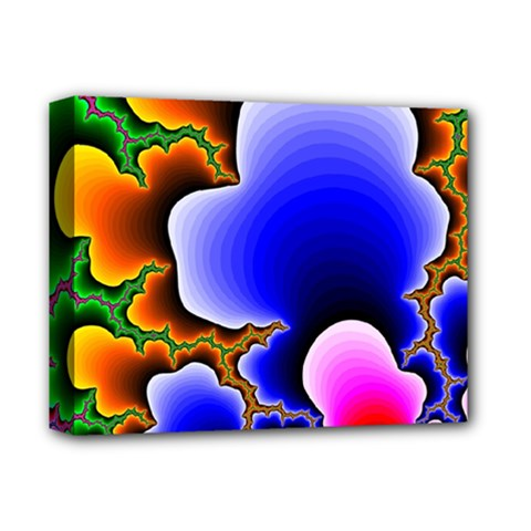 Fractal Background Pattern Color Deluxe Canvas 14  X 11