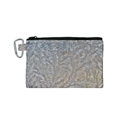 Eiskristalle Hardest Frozen Texture Canvas Cosmetic Bag (small)