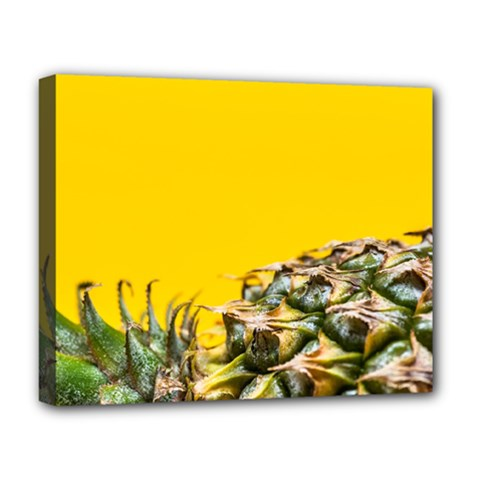 Pineapple Raw Sweet Tropical Food Deluxe Canvas 20  X 16