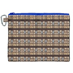 Window Facade Truss Hauswand Canvas Cosmetic Bag (xxl)