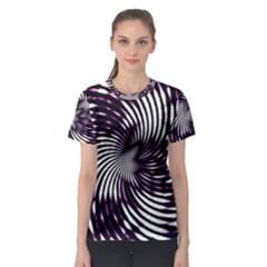 Background Texture Pattern Women s Sport Mesh Tee